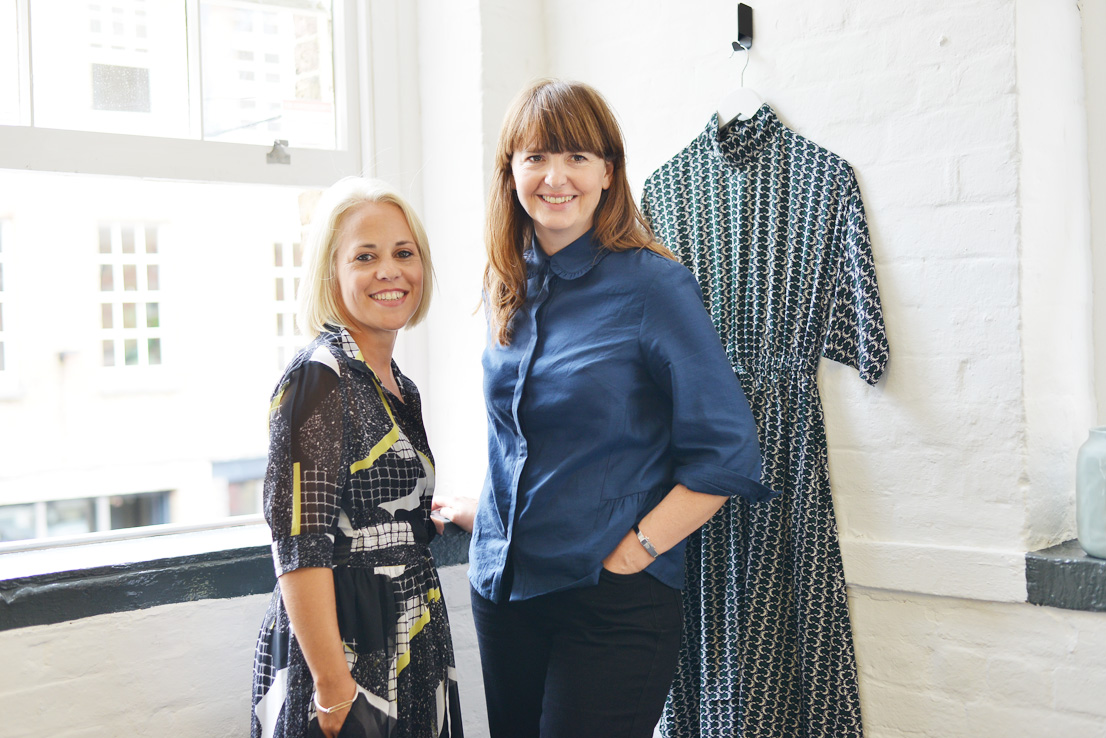 Atterley CEO Sally Anne Newson and creative director Becky Leeson