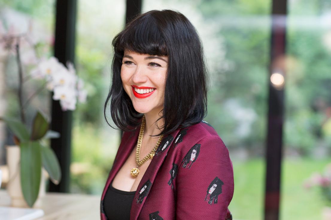 Farfetch fashion editor Alannah Sparks