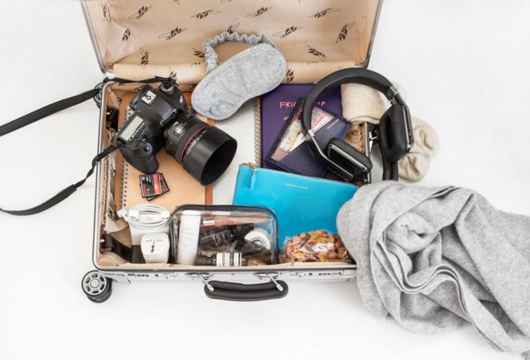 In-flight travel beauty essentials