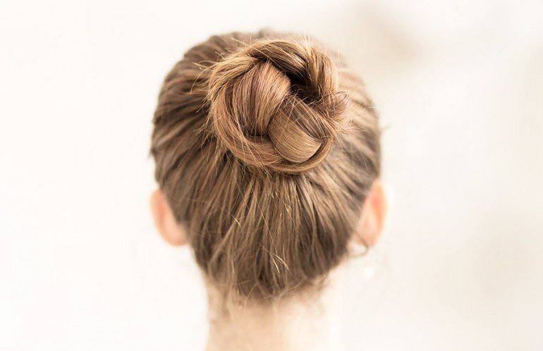 The experts on how to master the top knot