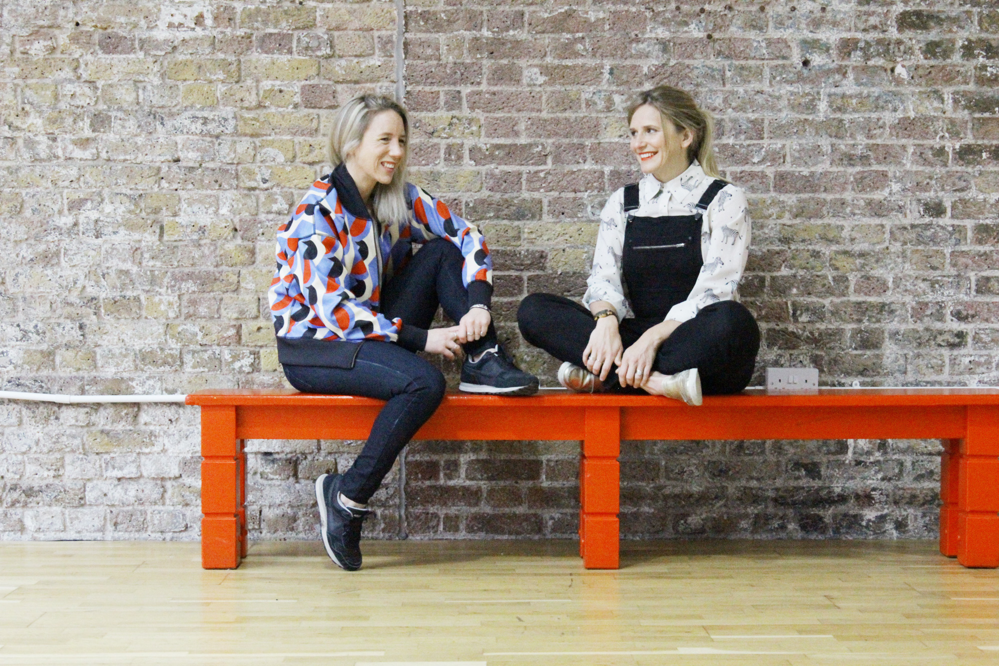 Frame founders Pip Black and Joan Murphy