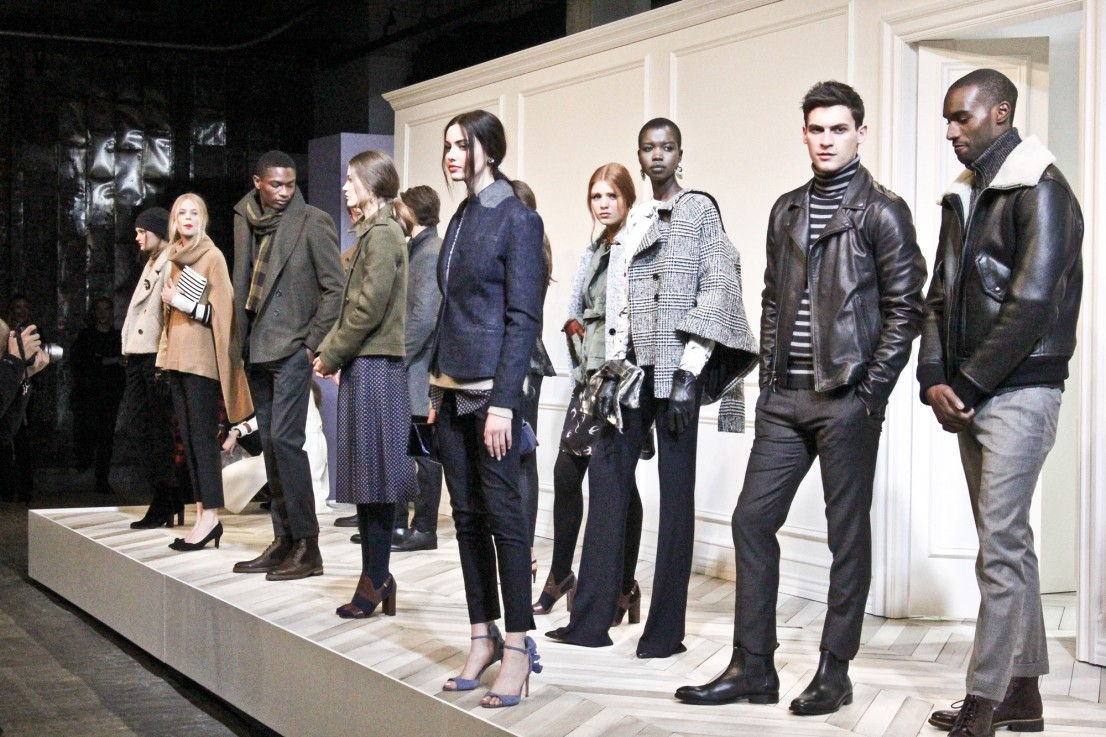 Banana Republic AW16 presentation in New York