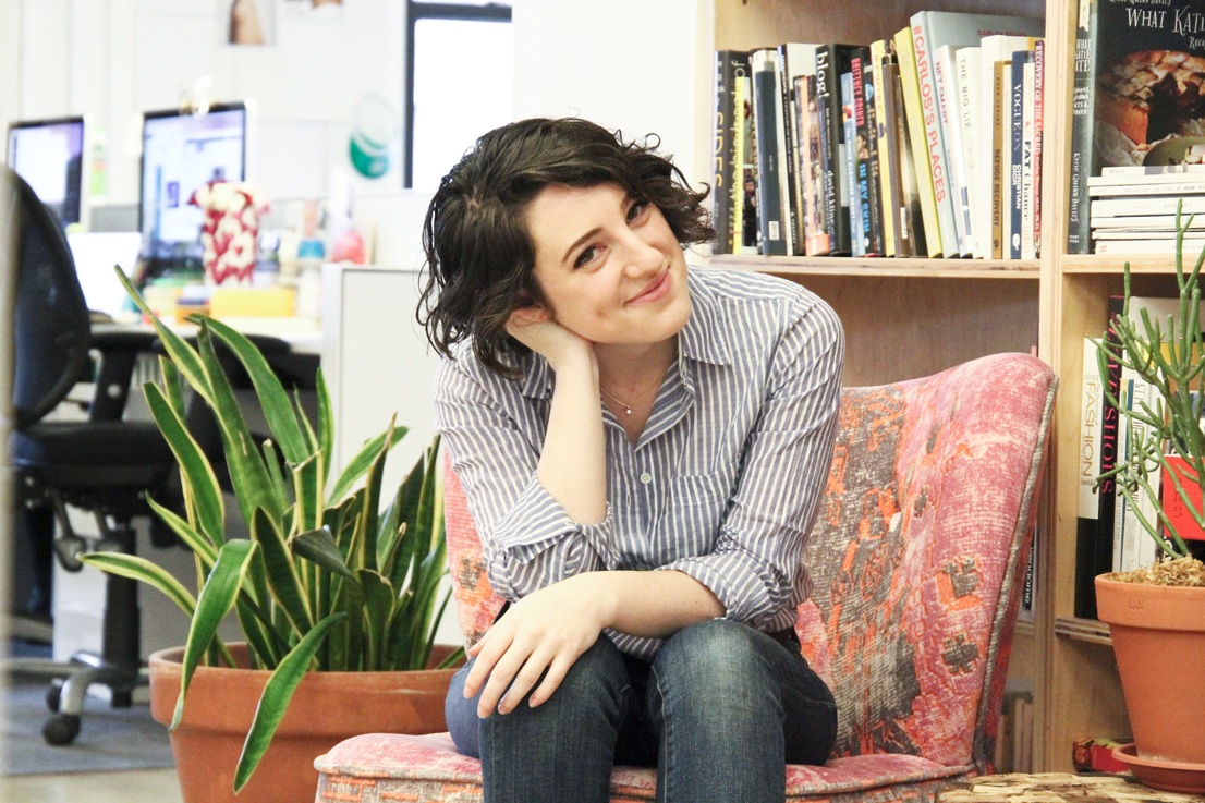Refinery29 social media editor, Julie Bogen