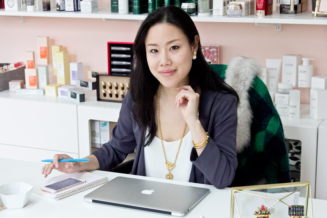Peach & Lily founder, Alicia Yoon