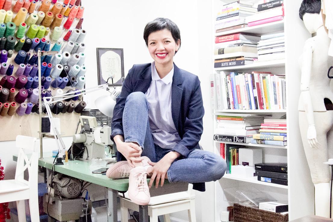 Designer Christine Alcalay