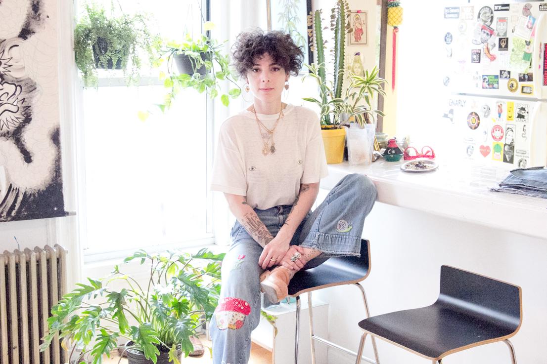 Lockhart Embroidery designer, Marie Sophie Lockhart