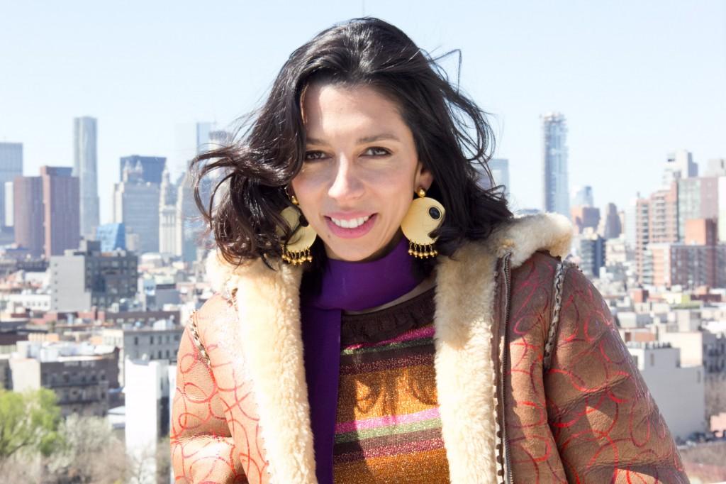 Jewellery designer, Paula Mendoza