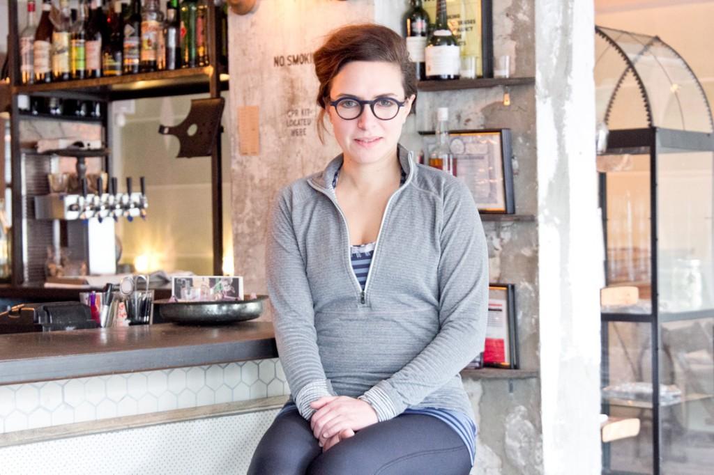 Glasserie founder Sara Conklin