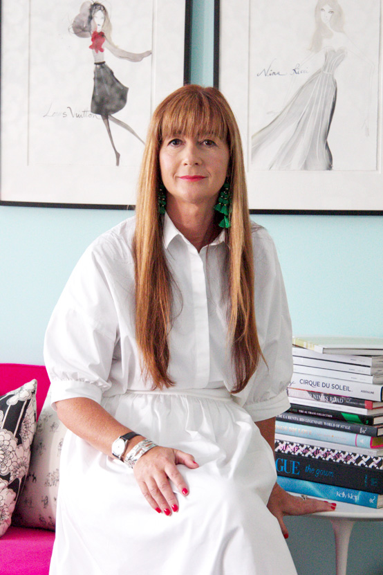 Deborah Lloyd, president and creative director of Kate Spade New York
