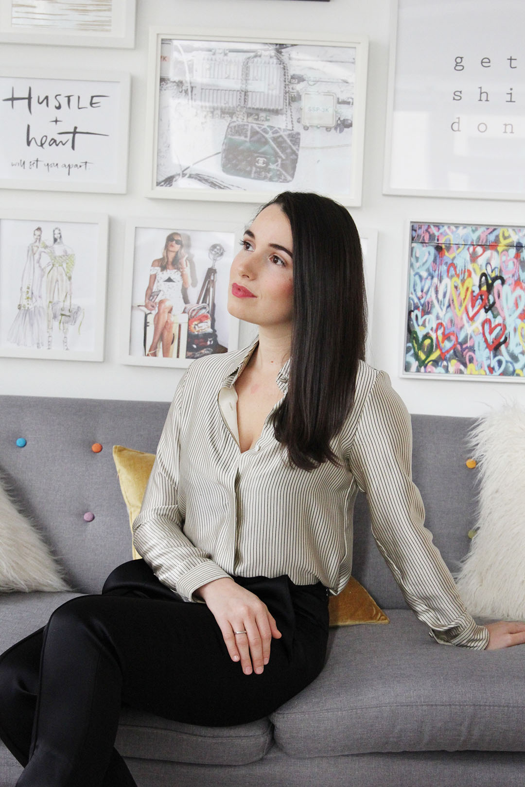 Village Luxe founder Julia Gudish Krieger
