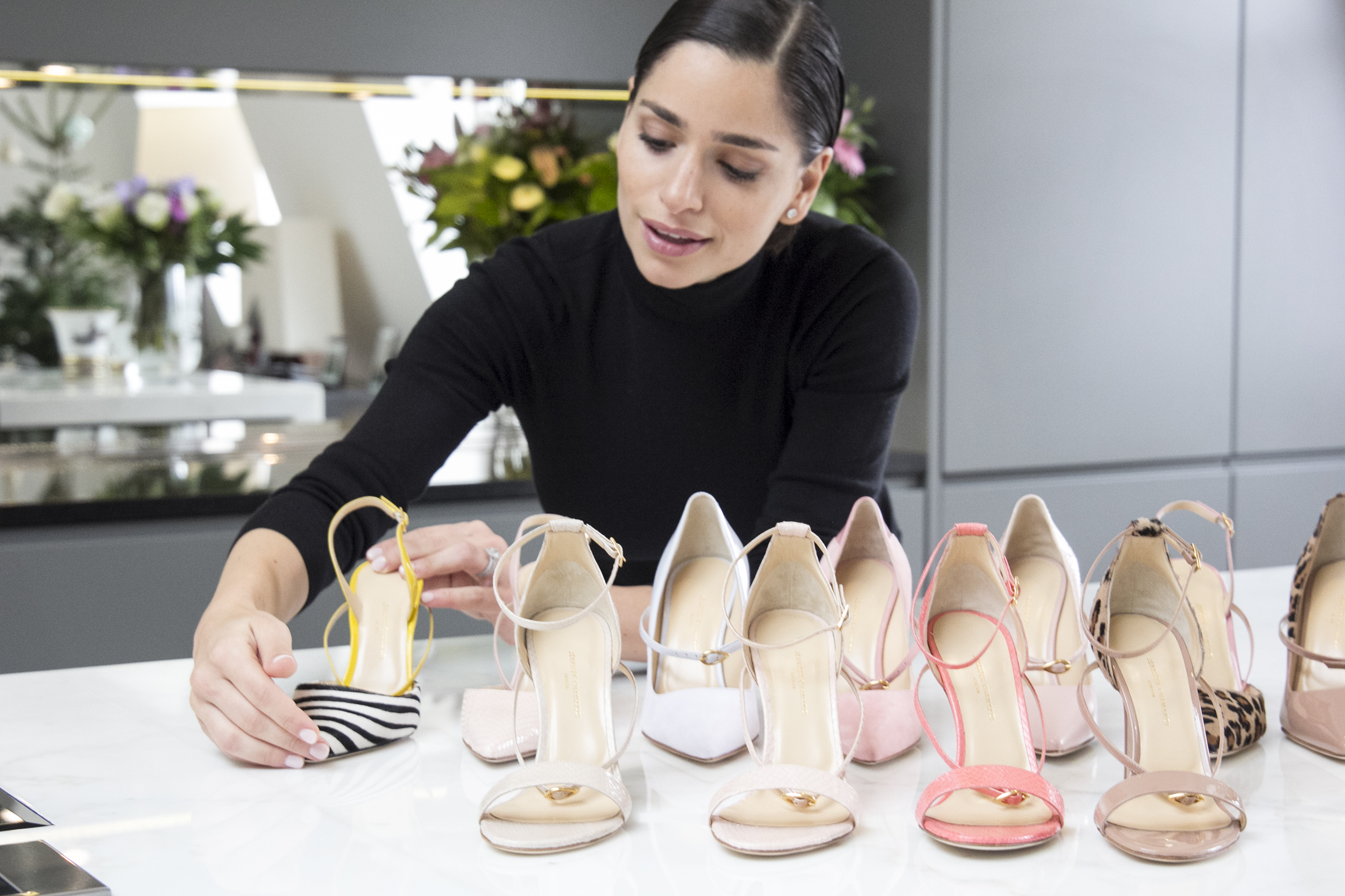 77ceb36a1ded2 The Woman Behind The Browns-Backed Footwear Label You Need To Know.  Designer Jennifer Chamandi ...