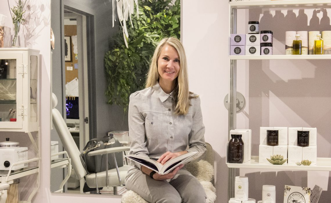 Goop Beauty VP, Erin Cotter