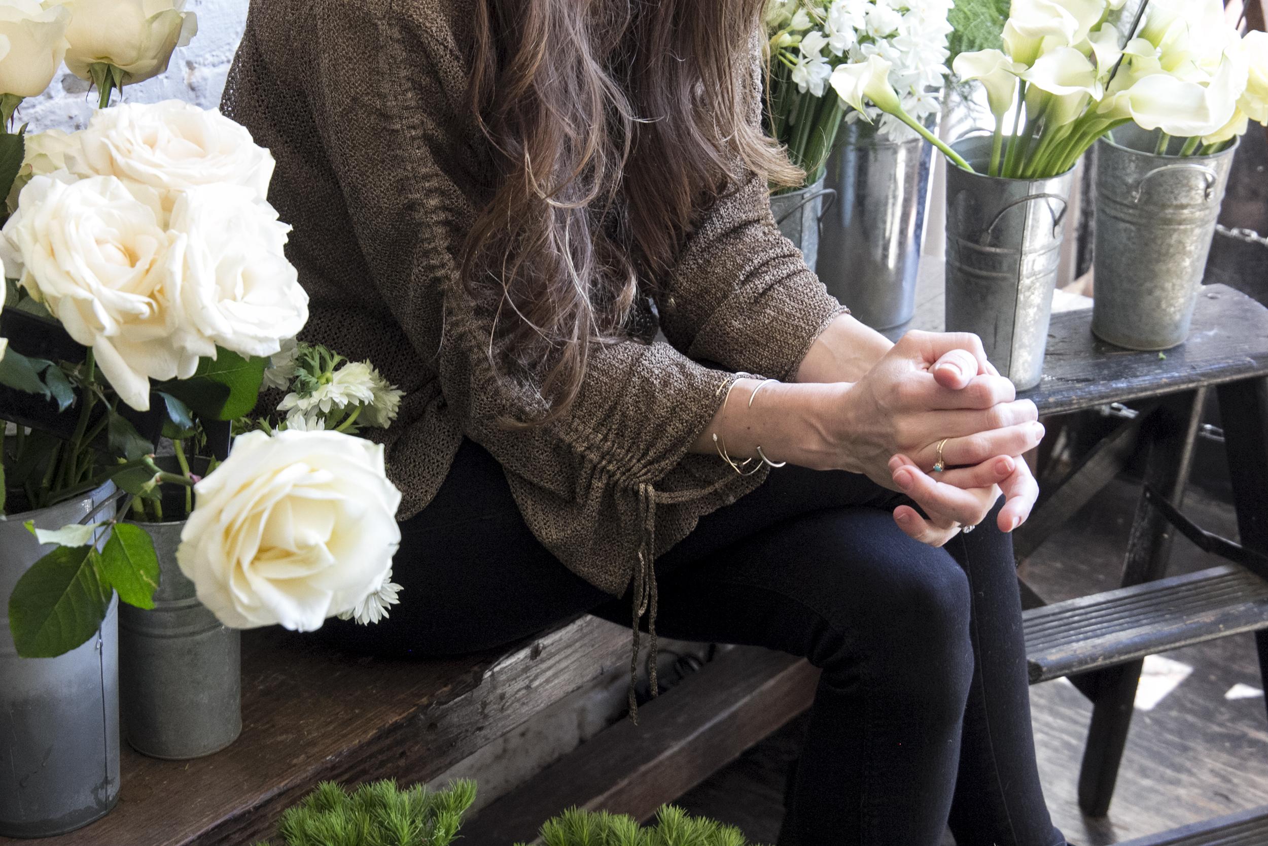 Flower Girl NYC founder, Denise Porcara