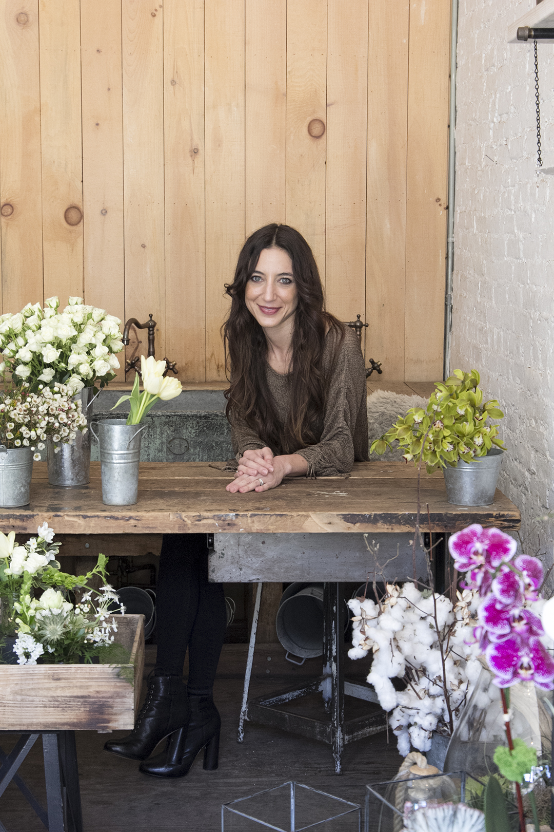 Flower Girl NYC founder, Denise Porcara