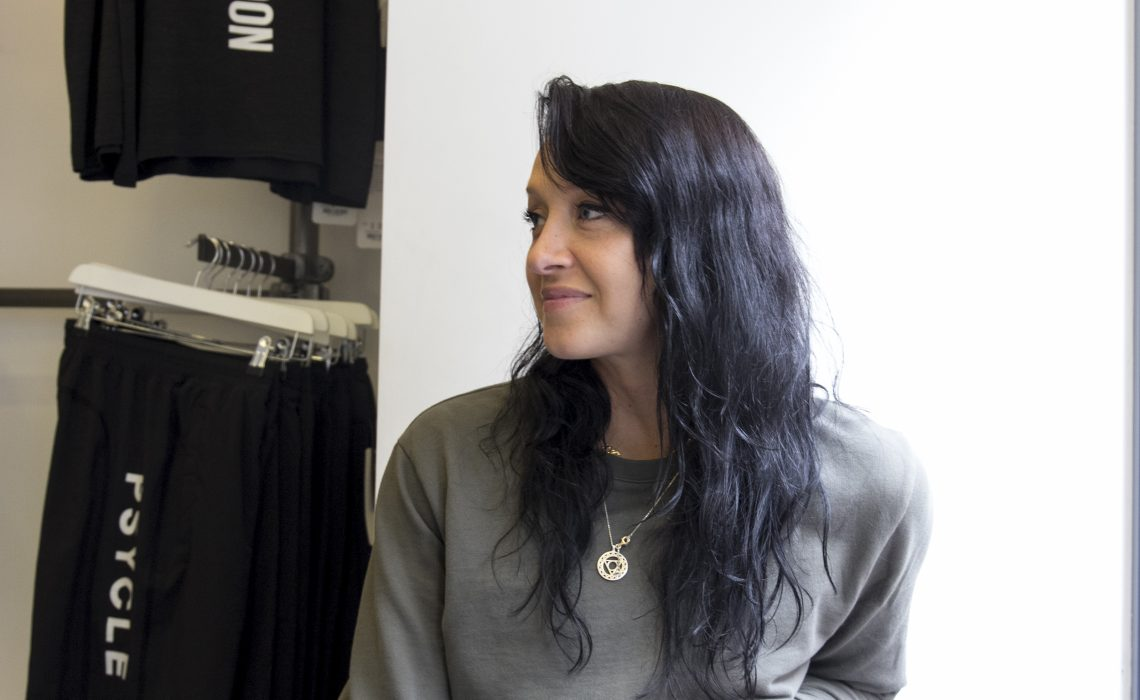 Psycle London master trainer, Kaya Cansfield