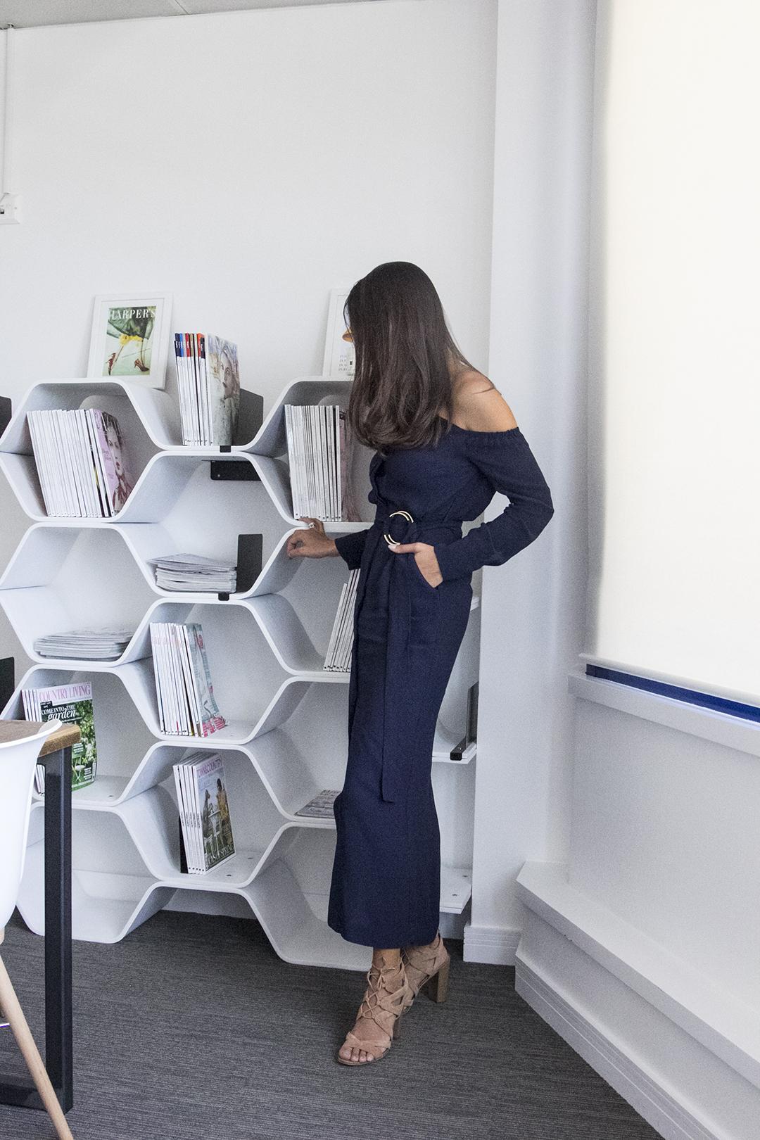Harper's Bazaar editor, Sarah Karmali