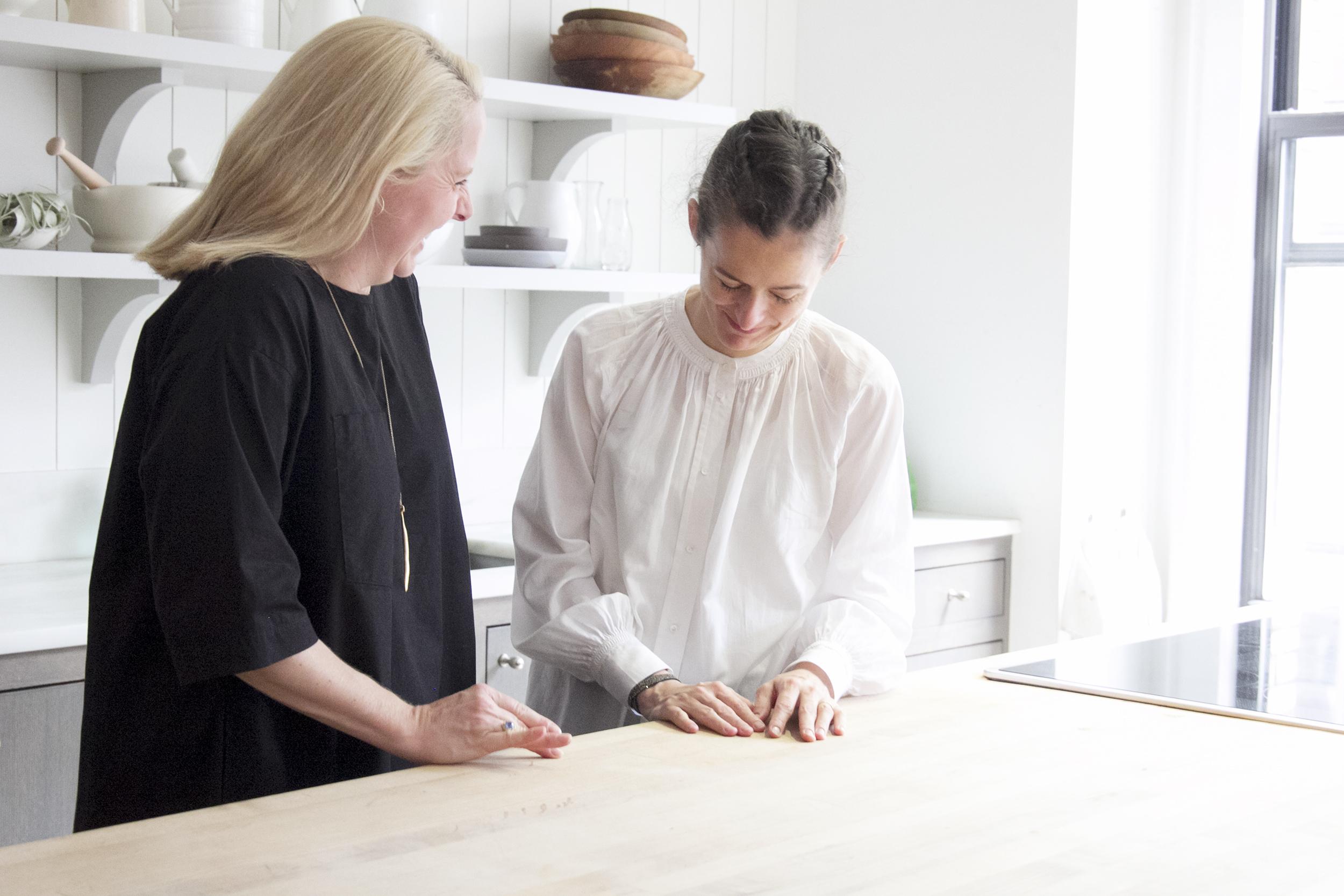 Food52 founders, Amanda Hesser and Merrill Stubbs