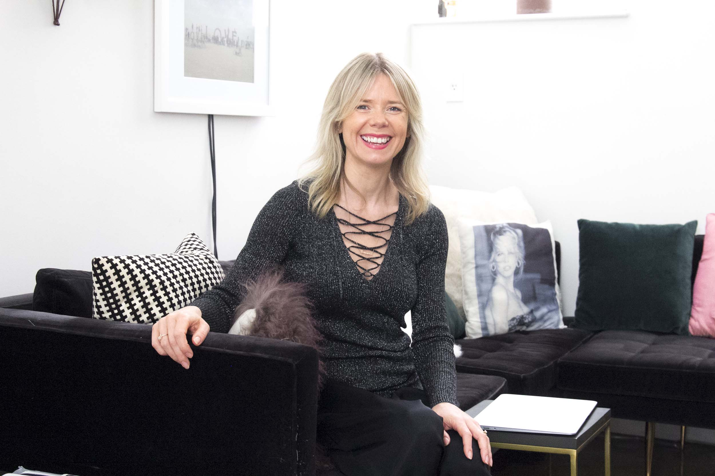 Ruby Warrington, founder of The Numinous and author of Material Girl Mystical World