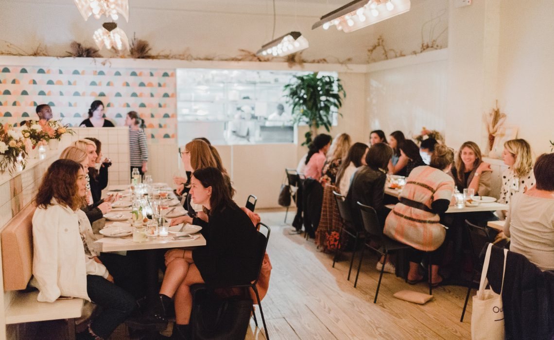 The Lifestyle Edit x Egg Shop Creative Women Supper Club