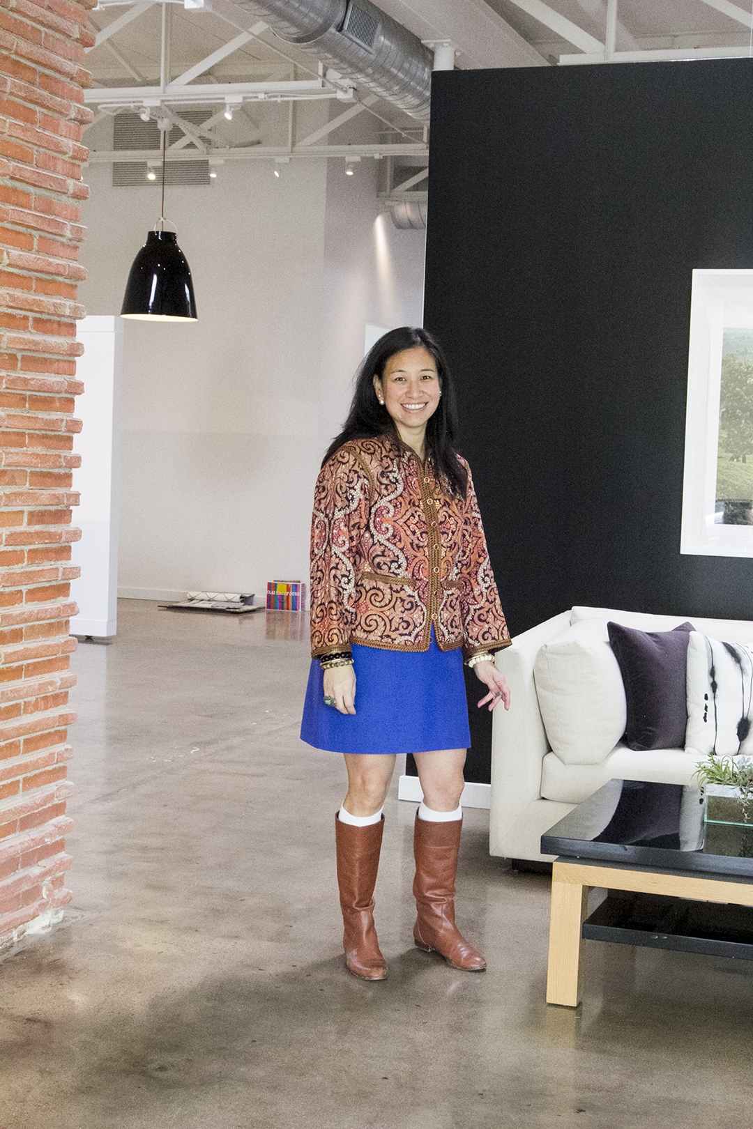 Jean Liu, interior designer and founder of Stori Modern