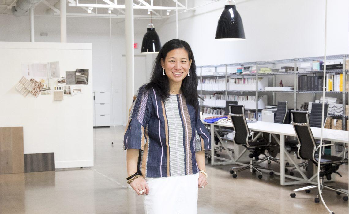 Jean Liu, interior designer and founder of Stori Modern